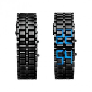 montre led samourai simple 4